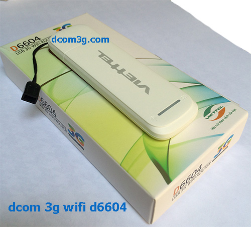 usb dcom 3g wifi router d6604