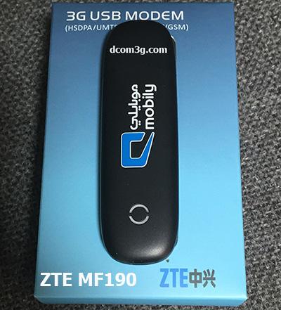 USB 3G ZTE MF190 7.2Mpbs dùng các mạng