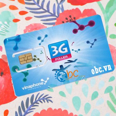 Sim 3G Vinaphone 60Gb không giới hạn