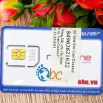 Sim 3G Mobifone 18Gb trọn gói 06 tháng